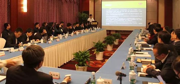 叶茂新出席棉纺设备出口座谈会
