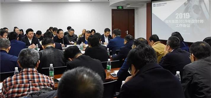 恒天集团召开2019年度财务工作会议